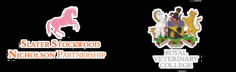 Slater Stockwood Nicholson Partnership and RVC Logos large
