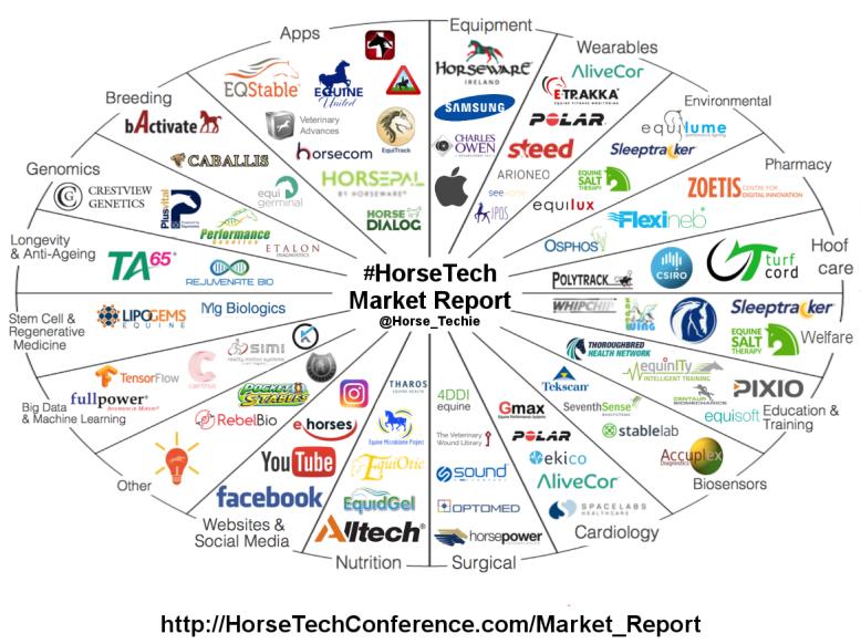 HorseTech Market Report Company Profile Graphic