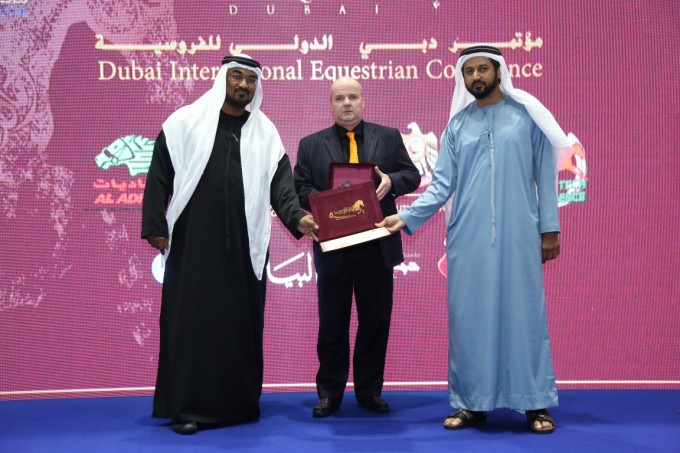 Sam Murphy HorseTech Conference Dubai