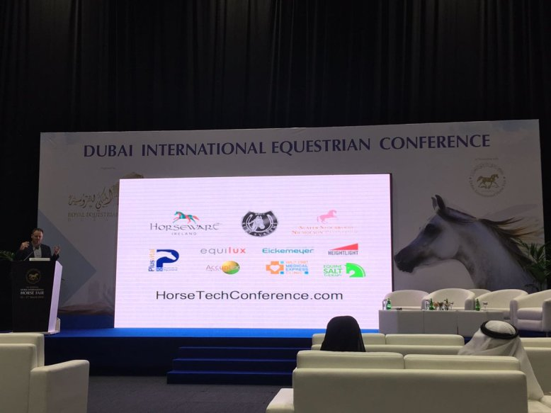David Doherty HorseTech Conference Dubai