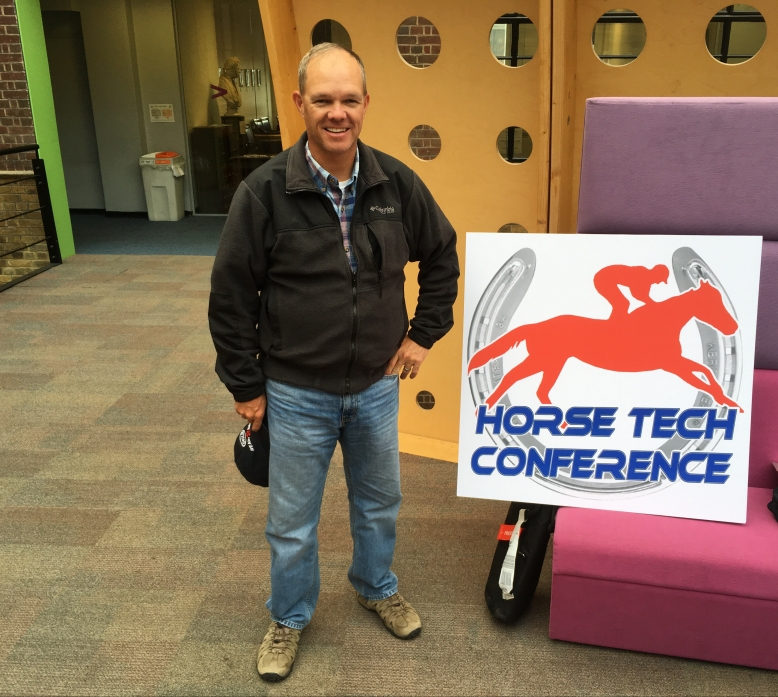 The Stride Guy Jay Kilgore at the Royal Veterinary College London