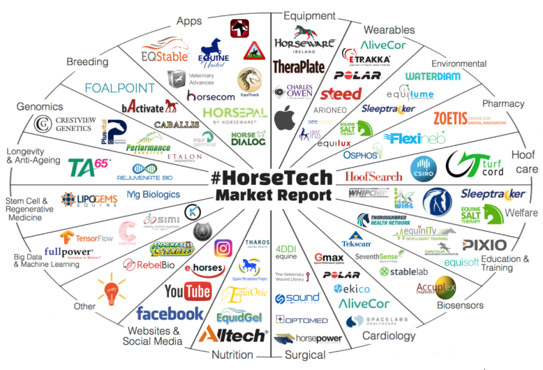 HorseTech Market Report Graphic