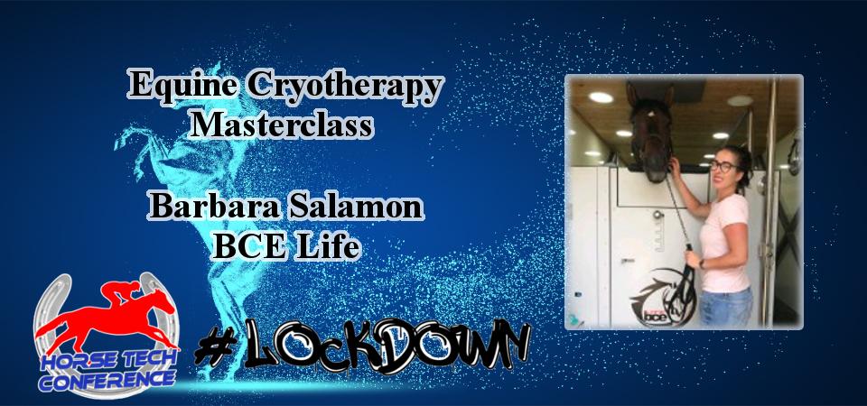 Lockdown HorseTech Conference Speaker Barbara Salamon