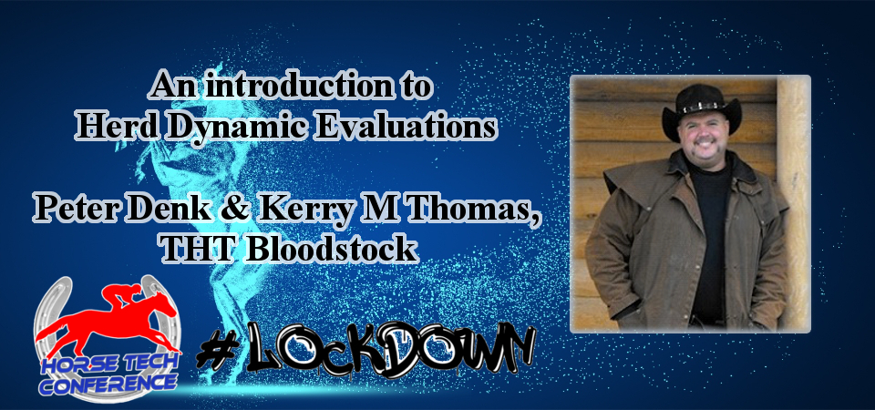 Lockdown HorseTech Conference Speaker Peter Denk and Kerry M Thomas